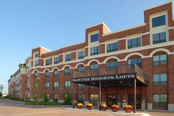 The complex at 2424 Sawyer Heights St. has a 24-hour gym, a meditation garden and other amenities.