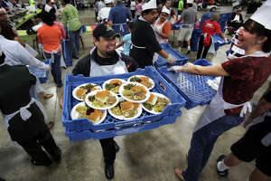 S.A. volunteers serving up annual Raul Jimenez dinner - Photo