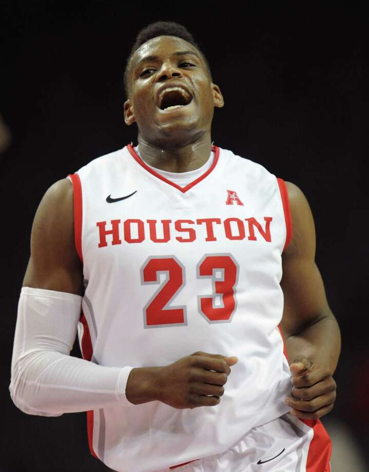 NEW YORK, NY - NOVEMBER 25:  Danuel House #23 of the Houston Cougars celebrates after scoring a three point basket against the Stanford Cardinals during the frist half at Barclays Center on November 25, 2013 in the Brooklyn borough of New York City. Photo: Maddie Meyer, Getty Images / 2013 Getty Images