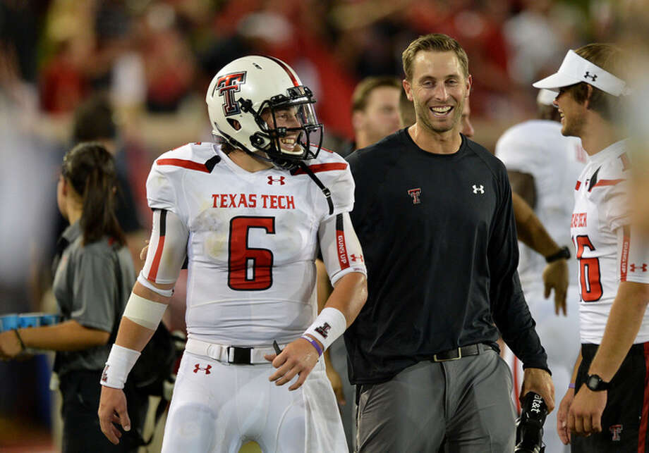 Kingsbury hopes to reverse Tech's history winless history with UT.