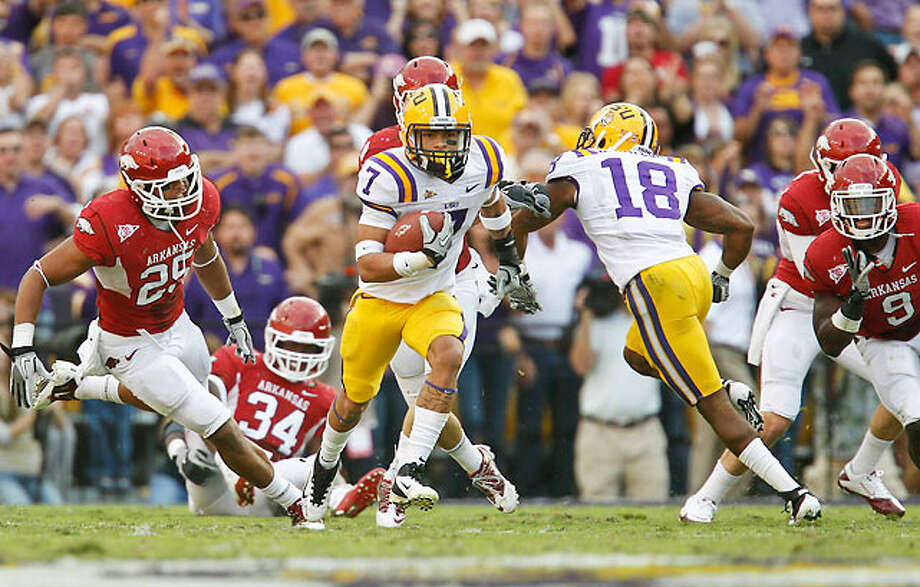 LSU and Arkansas calling a close to their traditional Thanksgiving match-ups. Photo: Derick E. Hingle-US PRESSWIRE