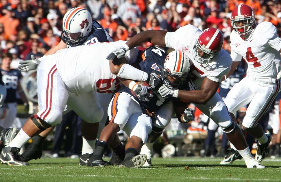 Big bad 'Bama is heavy fave in winner take SEC West Iron Bowl