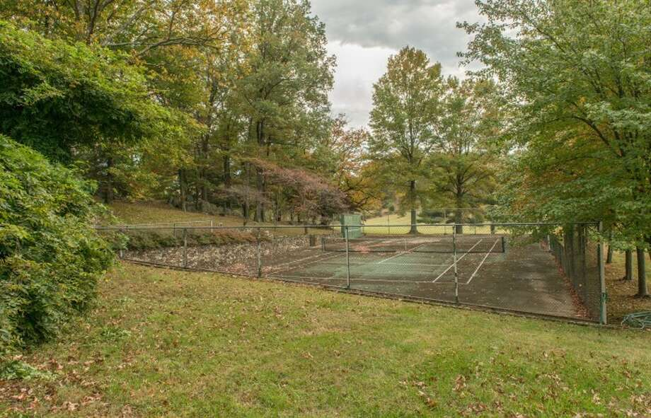 The grounds include these courts, which look largely untouched since Kennedy days. Photos: Atoka Properties/ Patricia Burns