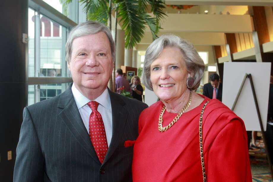 John and Joyce Garner at the Salvation Army luncheon. Photo: Gary Fountain, For The Chronicle