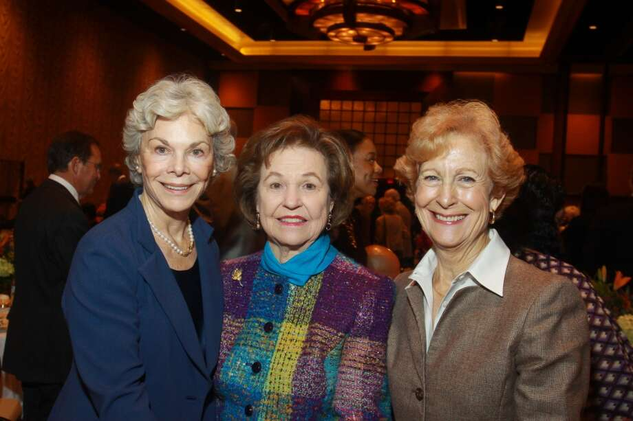 Janice McNair, from left, Bette Linbeck and Susan Baker at the Salvation Army luncheon. Photo: Gary Fountain, For The Chronicle