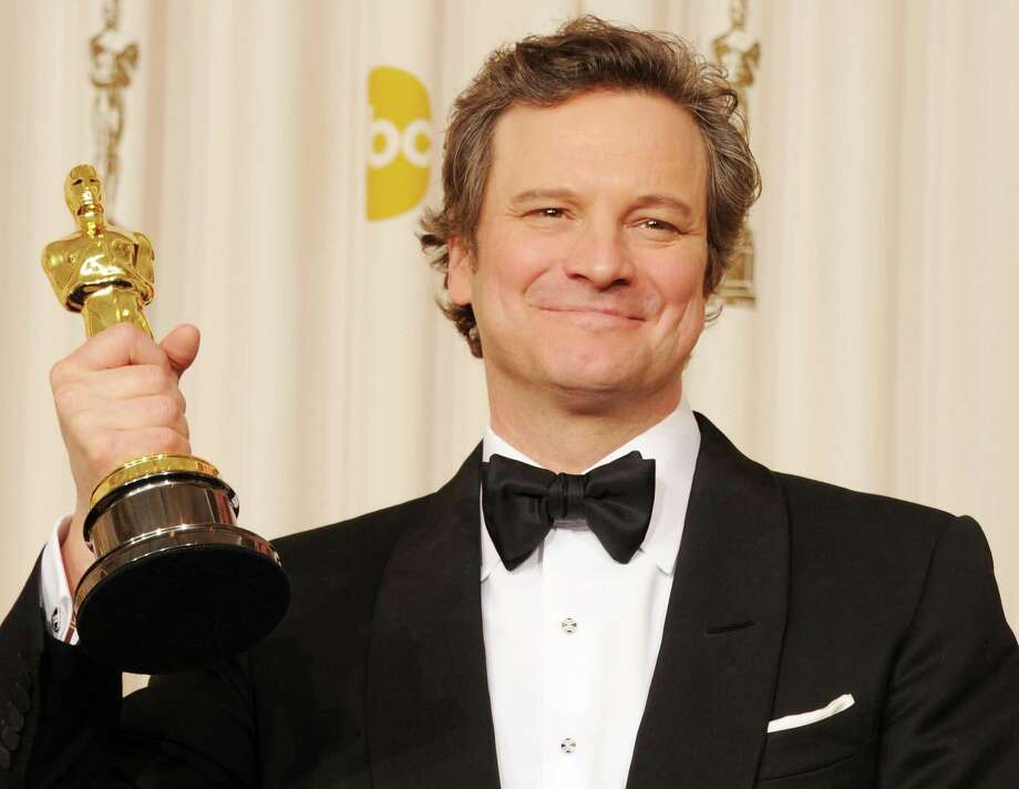 """""""The King's Speech"""" sequel: He starts stuttering again and having sexual performance issues … Or, he sets out across Europe to encourage stutterers to tackle their fears and live normal lives, which we're in favor of but don't want to sit through two hours watching.  Photo:  Actor Colin Firth, winner of the award for Best Actor for 'The King's Speech', poses in the press room during the 83rd Annual Academy Awards held at the Kodak Theatre on February 27, 2011 in Hollywood, Calif. Photo: Jason Merritt, Getty Images / 2011 Getty Images"""