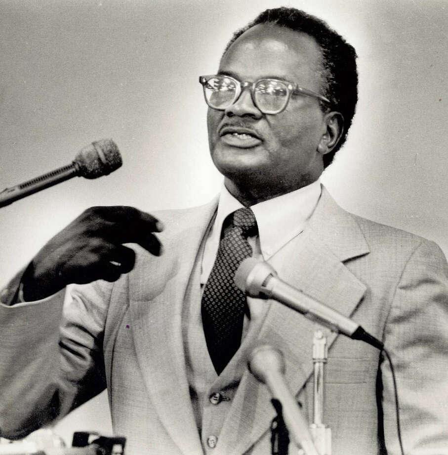 Tobe Duhon, former Beaumont Independent School District trustee. Photo: Enterprise archives.