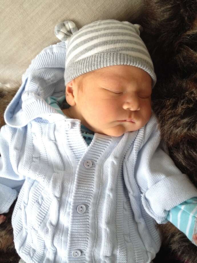 What a Thanksgiving blessing! Newborn James 'Stretch' Hannon. Photo: Sarah Lucero