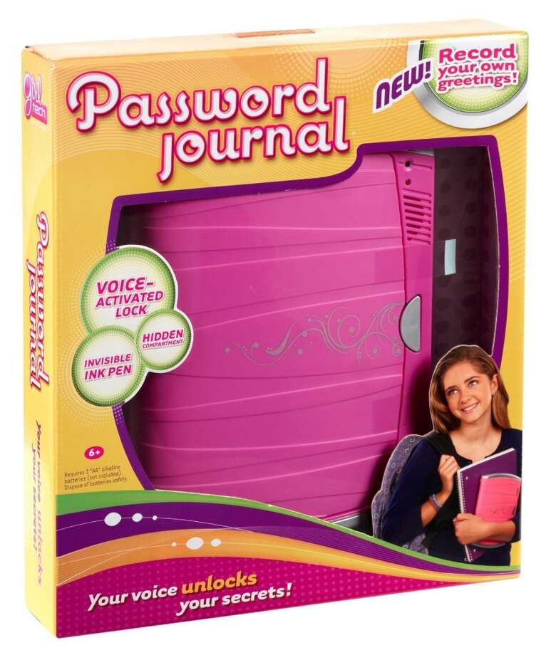 Girls No. 1: Password Journal