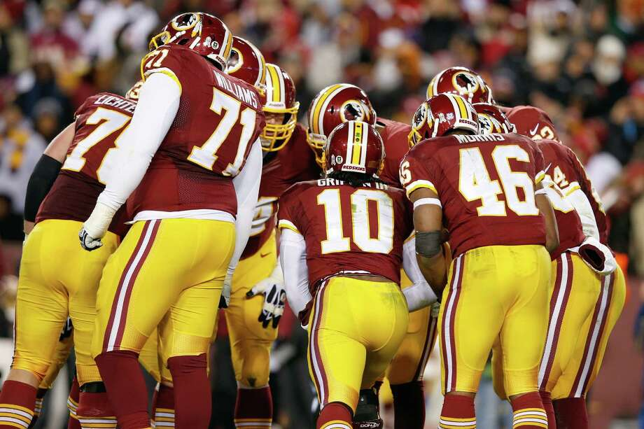 With the controversy continuing over the mascot of the Washington Redskins, one of our readers suggests that the team should change its name to something less offensive. (AP Photo/Alex Brandon) Photo: Alex Brandon, Associated Press / AP