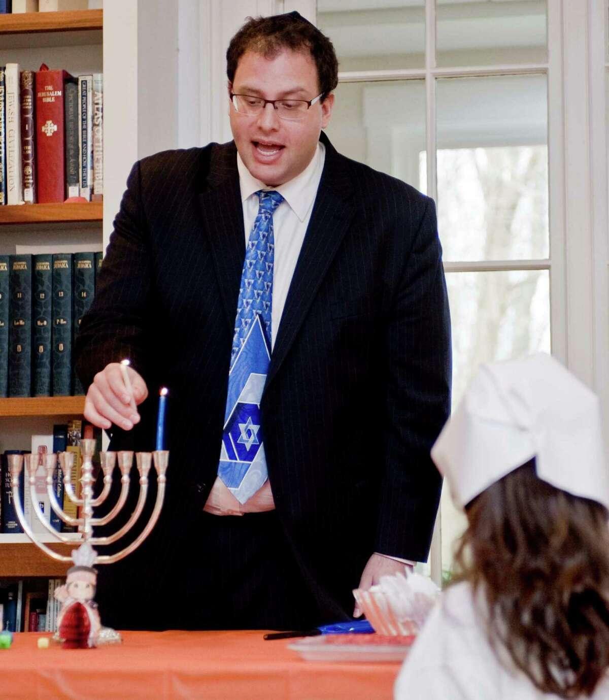 Rabbi David Reiner of Temple Shearith Israel in Ridgefield