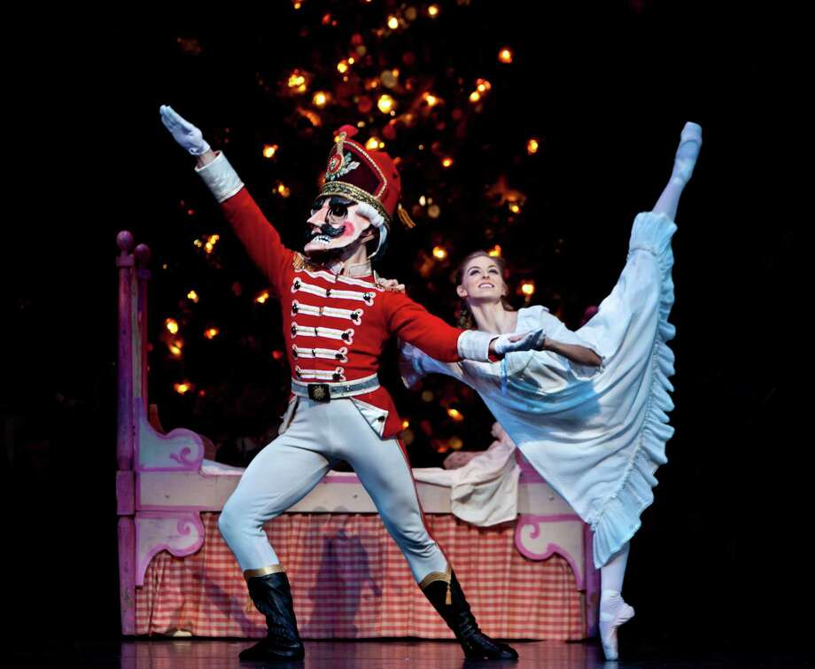 "Allison Miller performs the role of Clara in one of the casts of Houston Ballet's ""The Nutcracker,"" which returns to Wortham Theater Center Nov. 29 - Dec. 29, 2013. Photo: Amitava Sarkar / ONLINE_YES"