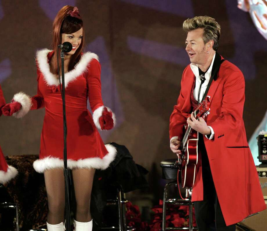 Swinging, rockabilly preserving, pompadour-sporting guitar monster Setzer keeps busy with his annual holiday program simply titled Christmas Rocks. If you want Christmas to rock, this is the show for you. 8 p.m. Saturday; Arena Theatre, 7326 U.S. 59 S.; $39.50-$49.50; 713-772-5900 or arenahouston.com. Photo: JEFF CHRISTENSEN, STF / AP