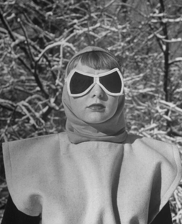 1947: Girl modeling sun goggles. Photo: Dmitri Kessel, Time & Life Pictures/Getty Image