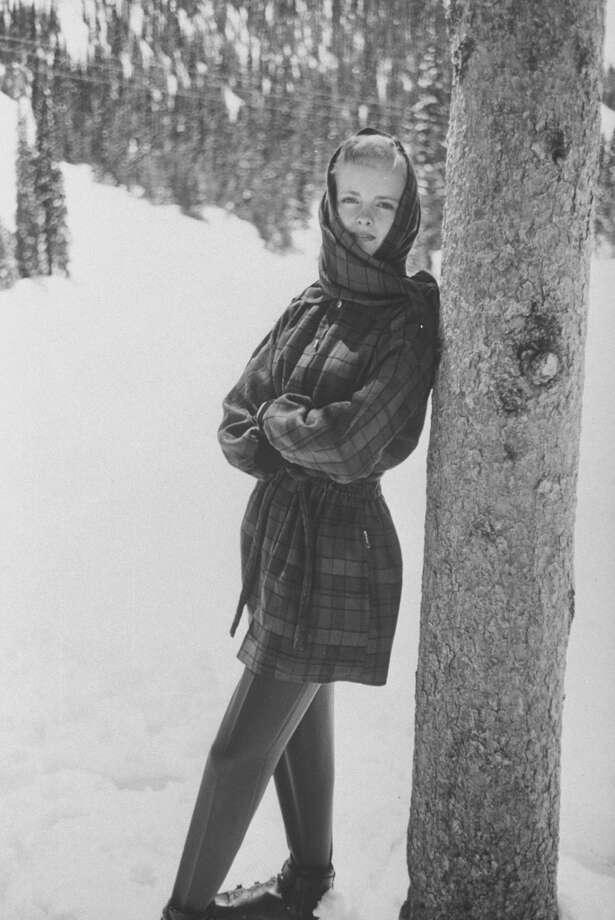 1959: Ski fashions. Photo: Carl Iwasaki, Time & Life Pictures/Getty Image