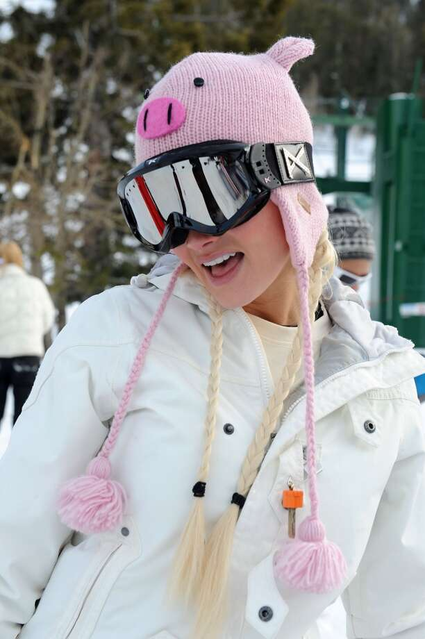 2010: Holly Madison attends Lee Canyon Ski Resort in Las Vegas, Nevada. Photo: Denise Truscello, WireImage