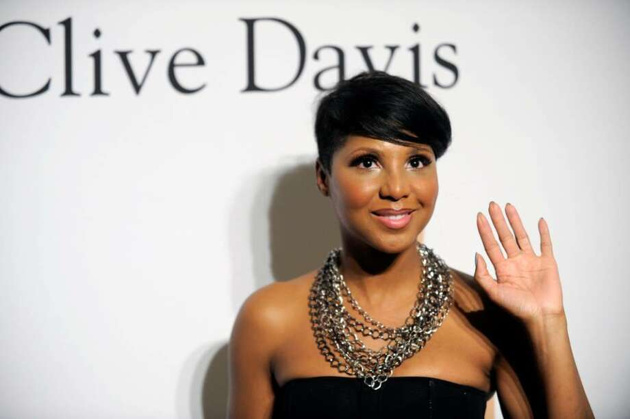 Toni Braxton arrives at the annual Pre-GRAMMY Gala presented by The Recording Academy and Clive Davis on Saturday, Jan. 30, 2010 at The Beverly Hilton Hotel in Beverly, Hills, California. (AP Photo/Chris Pizzello) Photo: Chris Pizzello, ASSOCIATED PRESS / AP2010