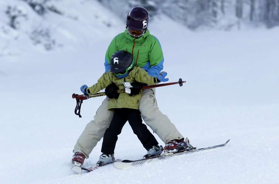 2013: Skiers at Park City Mountain Resort, in Park City, Utah. Photo: Rick Bowmer, Associated Press