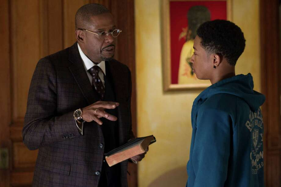 "This image released by Fox Searchlight Films shows Forest Whitaker, left, and Jacob Latimore in a scene from ""Black Nativity."" (AP Photo/Fox Searchlight Films, Phil Bray) Photo: Phil Bray, HOEP / Fox Searchlight Films"