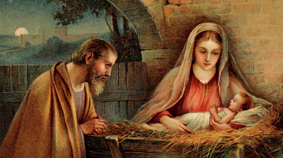 A recent study found that most American adults believe the story of Jesus Christ's birth is historically accurate, from the virgin mother, to the wise men bearing gifts.  Photo: Popperfoto, Popperfoto/Getty Images / Popperfoto