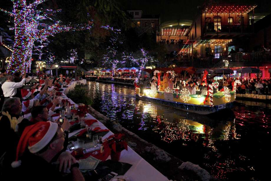 Nothing's much prettier than the River Walk basking in the glow of more than one million Christmas lights.