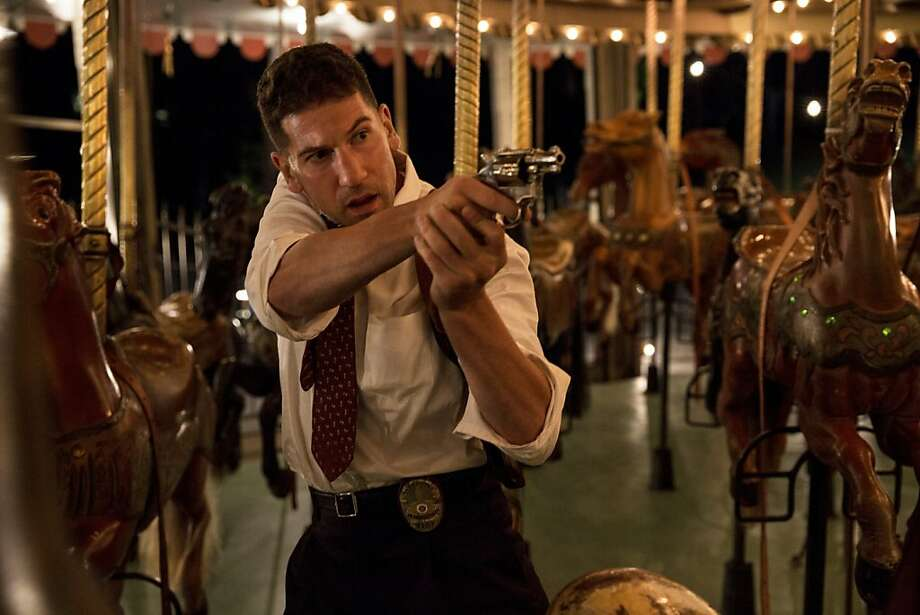 "Joe Teague (Jon Bernthal) is a former Marine who's now a cop in ""Mob City."" But being a cop doesn't mean he's all good guy. Photo: Doug Hyun, TNT"