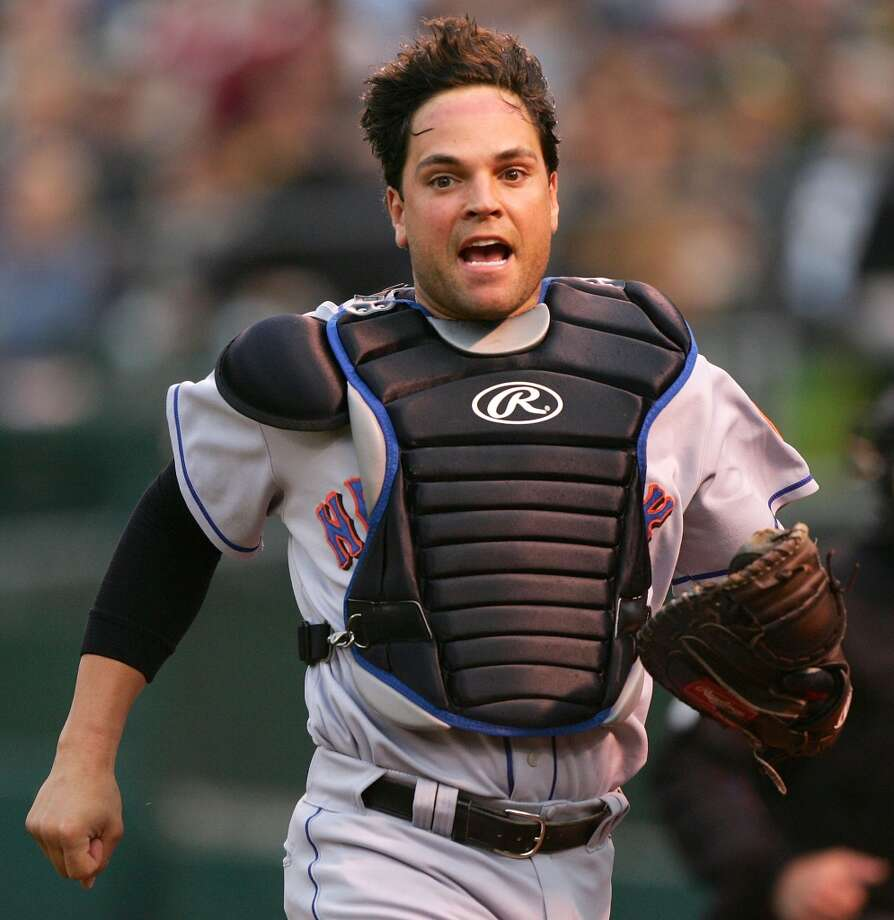 Mike Piazza Photo: Jed Jacobsohn, Getty Images