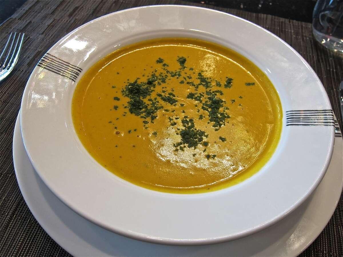 Butternut Squash Soup at Giacomo's Cibo e Vino