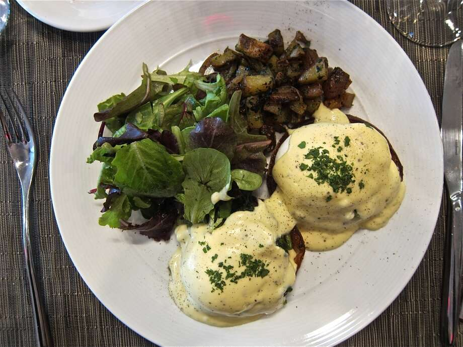 Eggs Benedict from the brunch menu at La Balance. Photo: Alison Cook