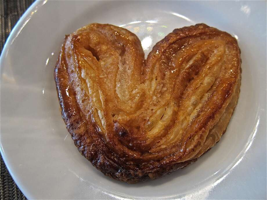 A house-baked palmier pastry from the brunch menu at La Balance. Photo: Alison Cook
