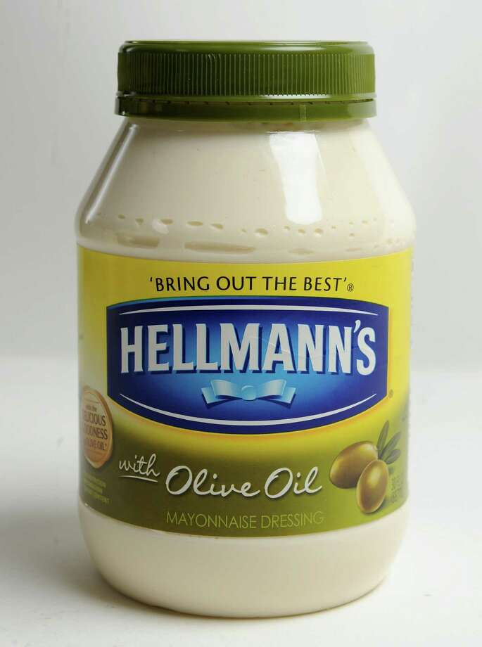Hellmann's mayonnaise with olive oil in the Times Union studio on Tuesday, Nov. 12, 2013 in Colonie, N.Y. (Lori Van Buren / Times Union) Photo: Lori Van Buren / 00024600A