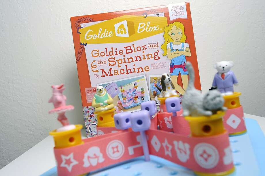 """The makers of GoldieBlox toys parodied the song """"Girls"""" without the Beastie Boys' permission. Photo: Michael Short, Special To The Chronicle"""
