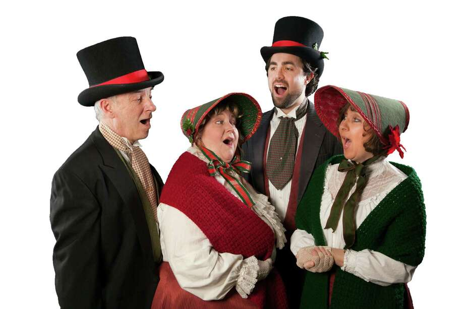 Members of the Connecticut Yuletide Carolers will stroll through Milford center Friday night, Dec. 6, during the 12th annual Lamplight Stroll. Photo: Contributed Photo / Connecticut Post Contributed