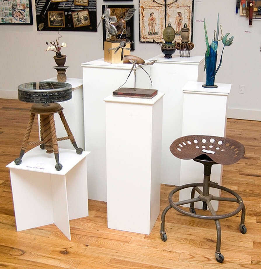 Great holiday presents can be found at nonprofit galleries and museums throughout the region. Shown above is City Lights Gallery in Bridgeport. Photo: Contributed Photo / Connecticut Post Contributed