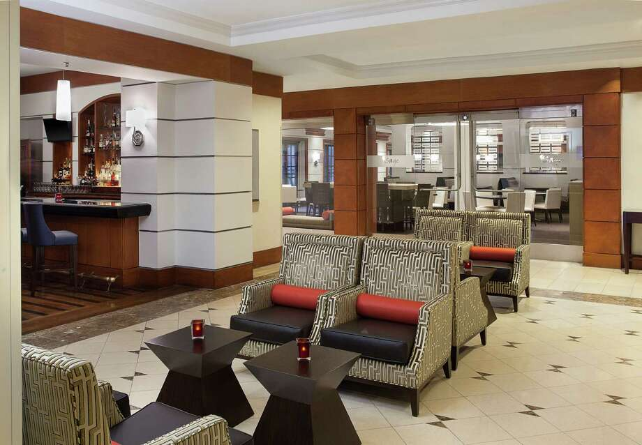 The Sheraton Suites Houston includes a number of redesigned public spaces. Photo: Courtesy Of The Sheraton Suites Houston / Copyright 2013 Don A. Hoffman