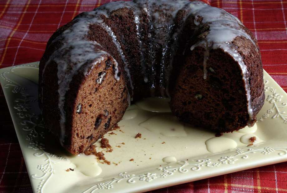 Pumpkin bread can be smothered in cream cheese icing, if desired. Photo: Karen Warren, Staff / © 2013 Houston Chronicle