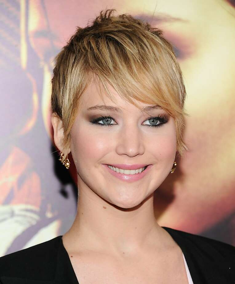 Jennifer Lawrence chopped off all her hair while promoting her Hunger Games flick 'Catching Fire'. Opinions on the change were mixed.  Photo: Evan Agostini, Associated Press