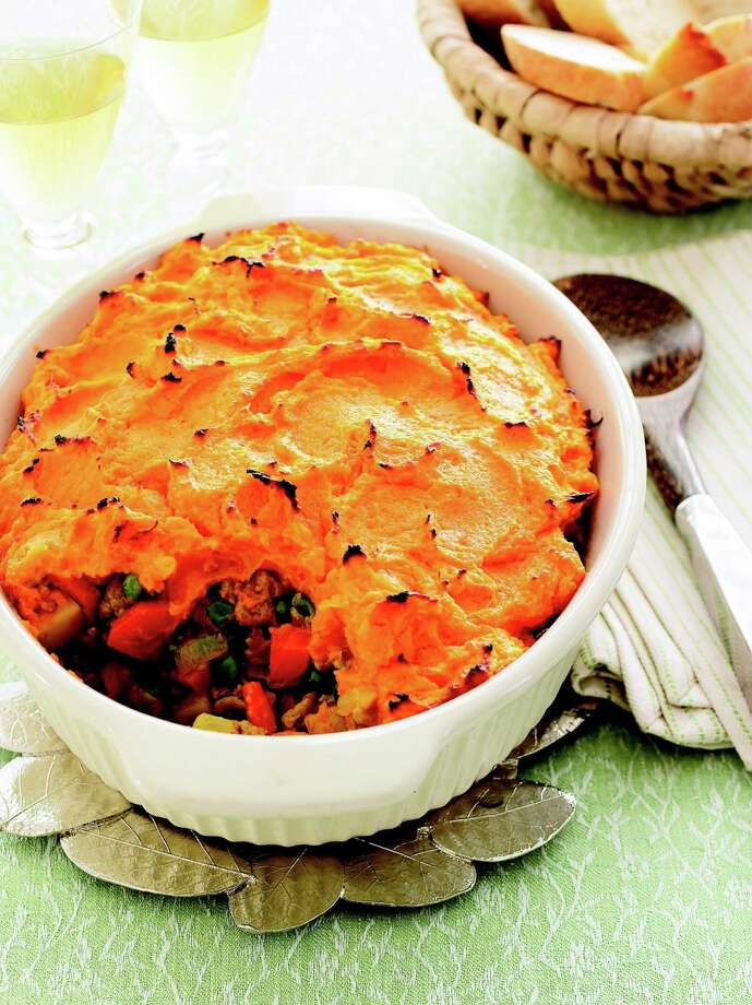 Good Housekeeping recipe for Curried Sweet potato Shepherd's Pie. Photo: Monica Buck