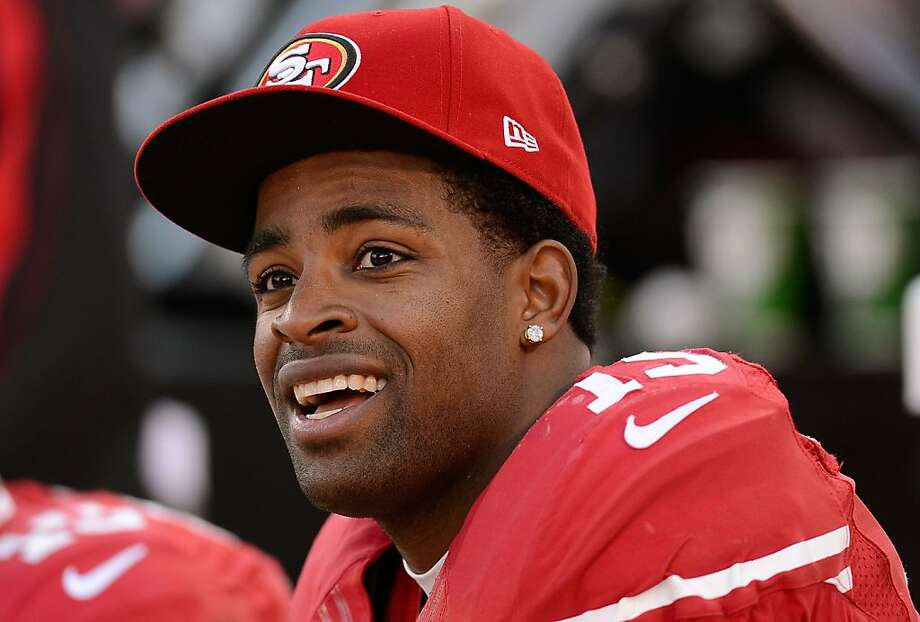 Michael Crabtree tore his right Achilles tendon during practice in May and had surgery. Photo: Thearon W. Henderson, Getty Images
