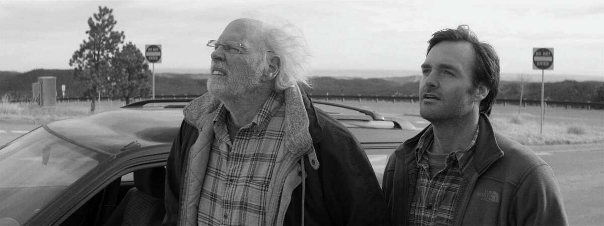 (Left to right) Bruce Dern is Woody Grant and Will Forte is David Grant in NEBRASKA, from Paramount Vantage in association with FilmNation Entertainment, Blue Lake Media Fund and Echo Lake Entertainment. NEB-FF-008