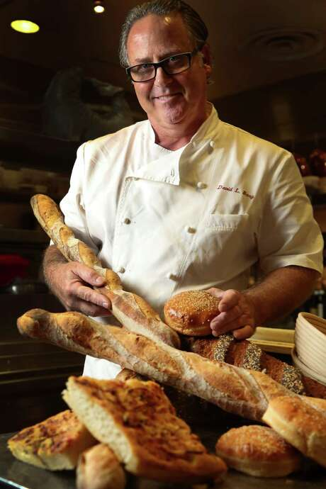 David Berg is a master baker in charge of all in-house baking for Tony's. In addition to classic European breads, he also will be developing a series of new breads just for Tony's. Photo: Karen Warren, Staff / © 2013 Houston Chronicle