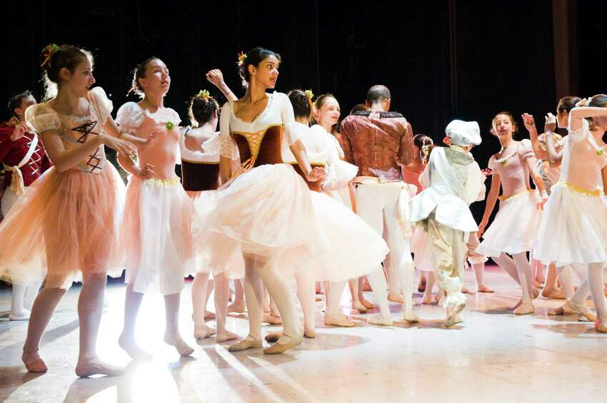The Ballet School of Stamford, members of which are pictured here in a 2011 rehearsal of