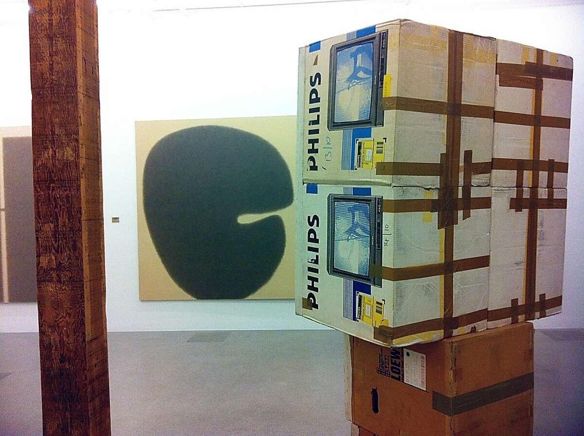 Interior of Jessica Silverman's new Tenderloin gallery features