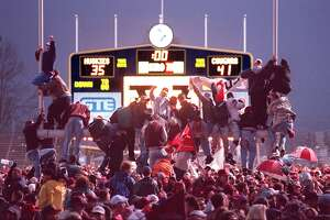 Apple Cup through the years - Photo