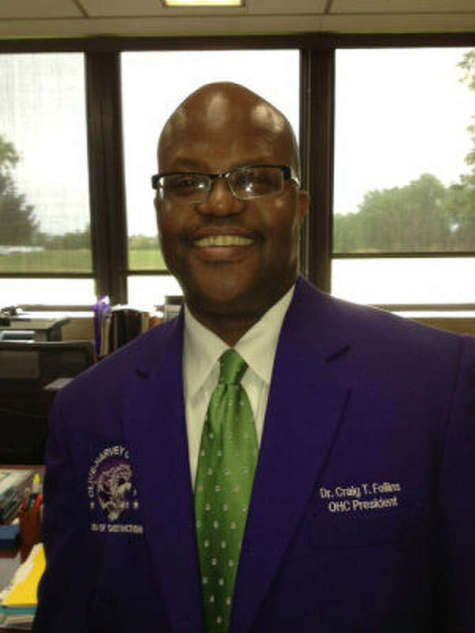 Craig Follins will be recommended to become Northeast Lakeview College's president.