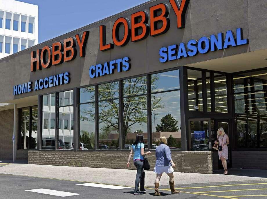 Hobby Lobby Photo: Ed Andrieski / Associated Press