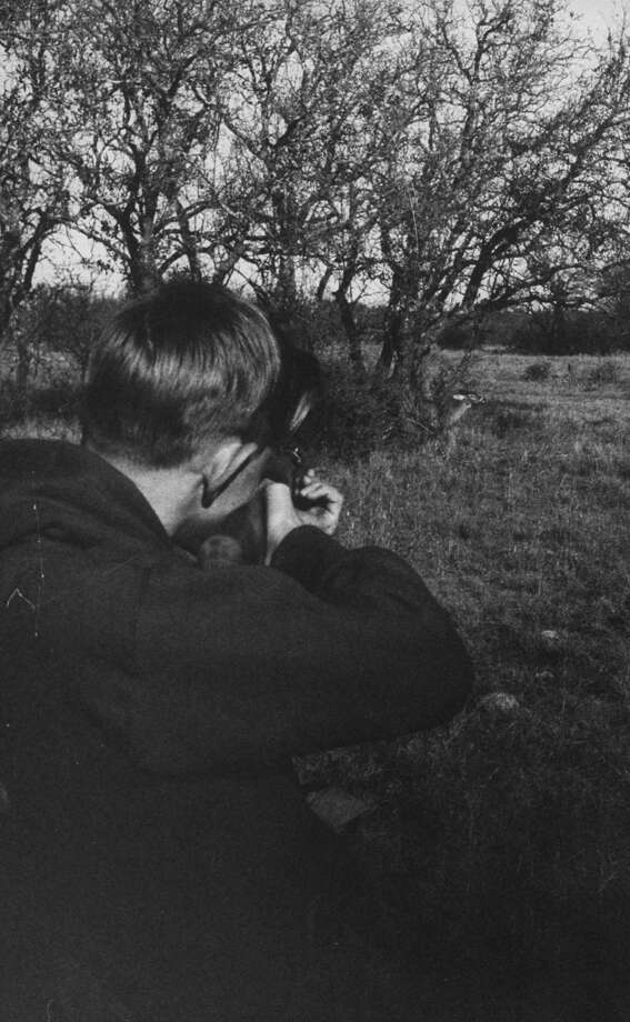 Boy shooting deer, 1960. Photo: Thomas D. McAvoy, Time & Life Pictures/Getty Image
