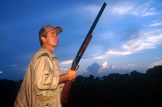 Dove hunters rule in Texas - San Antonio Express-News George W Bush Hunting