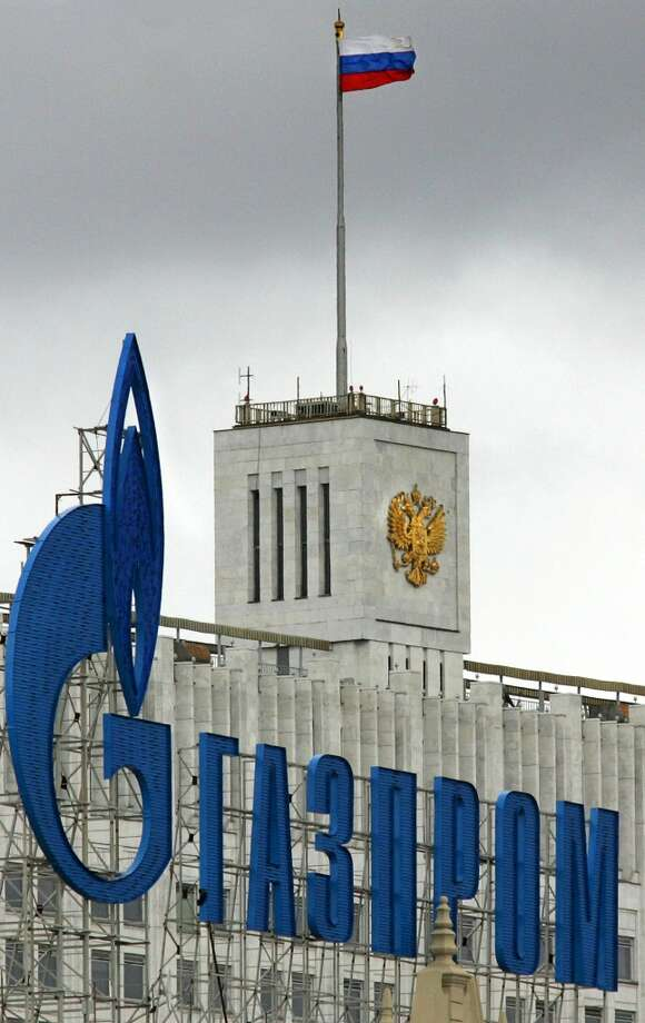 8. Gazprom -- partially state-owned oil company in Russia  2012 rank -- 10  [Photo: The logo of Russia's state-controlled gas giant Gazprom is displayed in front of the building of Russia's government in Moscow.] Photo: ALEXANDER NEMENOV, AFP/Getty Images
