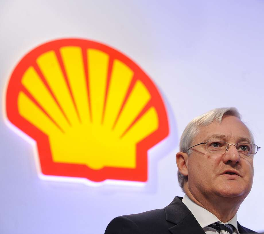 7. Royal Dutch Shell -- international oil company based in the Netherlands  2012 rank -- 7  [Photo: Peter Voser, chief executive of Royal Dutch Shell speaks during a press conference in London in May 2013.] Photo: BEN STANSALL, AFP/Getty Images